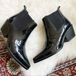 Sam Edelman Winona Rain Western Style Rain Boots 9
